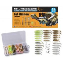 Savage Gear Fat Minnow T-Tail Kit Jiggpaket
