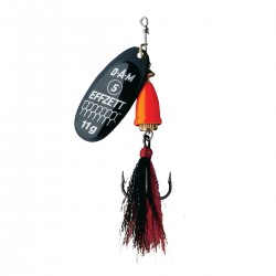 EFFZETT Executor Dressed 6g Spinnare - Black Fire