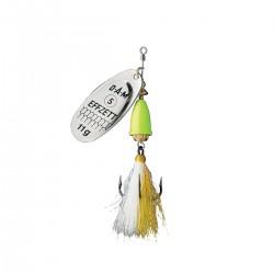 EFFZETT Executor Dressed 8g Spinnare - Silver Lemon
