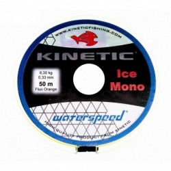 Isfiskelina Kinetic, 0,22 mm, 50 m, 4,0 kg