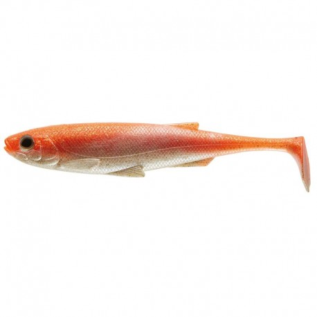 Daiwa Duckfin Liveshad 10cm - Orange/Pearl 3-pack