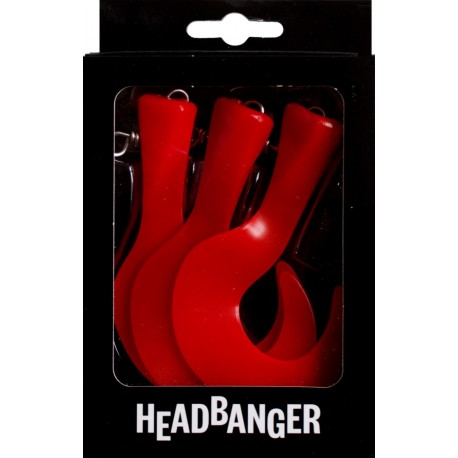 Headbanger Tail Extrasvans - Red