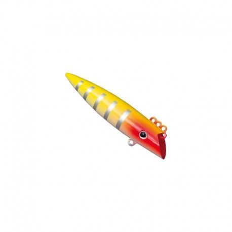 J:Pod BIG Trollingplugg 10,8 cm - Röd/Gul 3