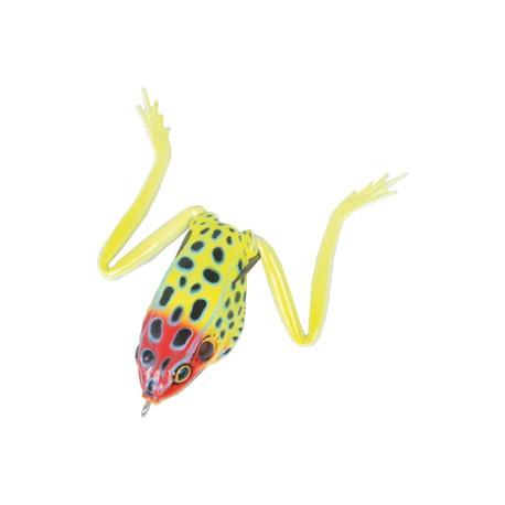 Real Frog Groda 5,5 cm - Gul/Röd