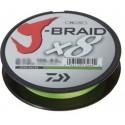 Daiwa J-Braid X8 150m 0,24mm/18,1kg - Chartreuse