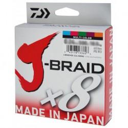 Daiwa J-Braid x8 Multicolour 150m 0,13mm