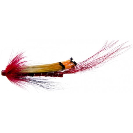 Tubfluga 5 cm Alleysshrimp Red, 3-pack