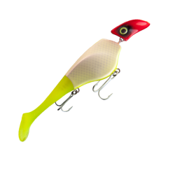 Headbanger Shad Suspending 23 cm - UV Clown