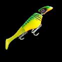 Headbanger Shad Flytande 23 cm - Firetiger