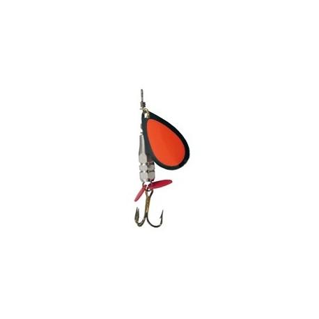King Spinnare Facett 7 gr - Svart/Orange