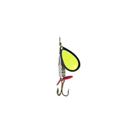 King Spinnare Facett 5 gr - Svart/Gul