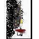 Myran Wipp Dubbel Spinnare 9gr - Svart