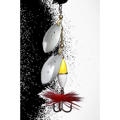 Myran Wipp Dubbel Spinnare 12gr - Silver