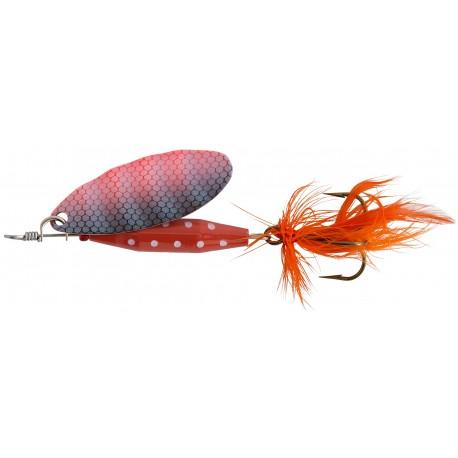 ABU Reflex Red Spinnare 7g - Fl/OR