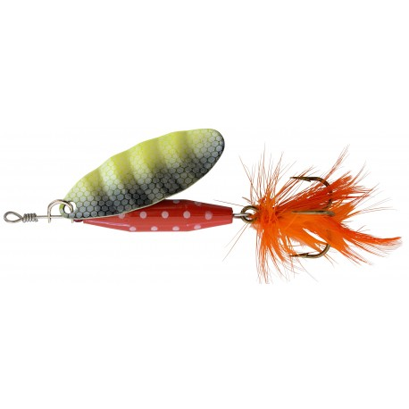 ABU Reflex Red Spinnare 12g - Fl/Yellow