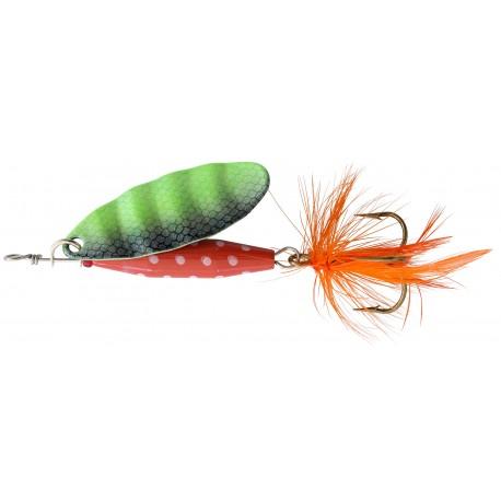 ABU Reflex Red Spinnare 18g - Fl/Green