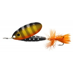ABU Reflex Black Spinnare 7g - Black Gold Orange