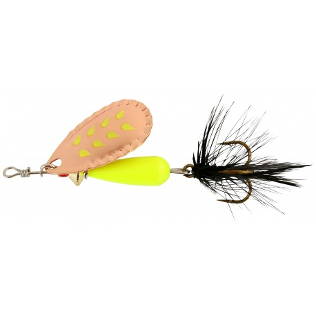 Abu Droppen Fluo Chartreuse Spinnare 8g - Copper