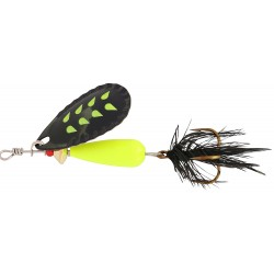 Abu Droppen Fluo Chartreuse Spinnare 8g - Black