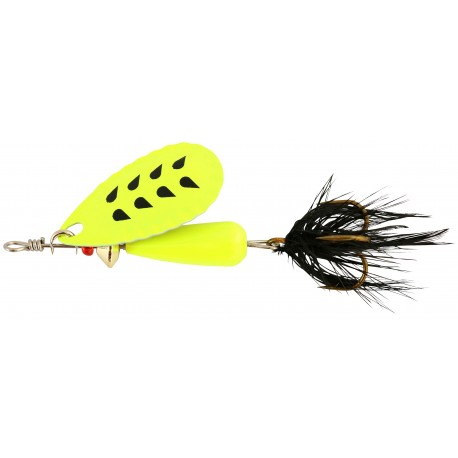 Abu Droppen Fluo Chartreuse Spinnare 8g - Chartreuse