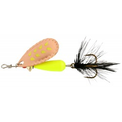 Abu Droppen Fluo Chartreuse Spinnare 12g - Copper
