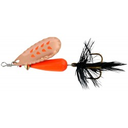 Abu Droppen Fluo Orange Spinnare 12g - Copper