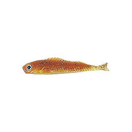 Jaxon Pimpeljigg 6,5cm Dropshot, 5-pack - Brun