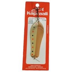 Kapraali trollingsked 13 gr - Silver/Koppar (Halki)