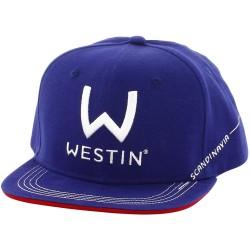 Westin Viking Helmet - Snorkel Blue/Poppy Red