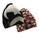 Westin Reversible Beanie - Black/Oxblood