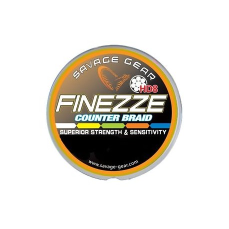 Savage Gear Finezze HD8 Flätlina 0.28mm - 4000m