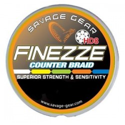 Savage Gear Finezze HD8 Flätlina 0.36mm - 3000m