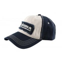 Okuma Full Back Two Tone Blue Patch Hat