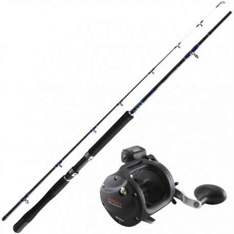 Trollingset Ron Thompson/Okuma Magda20 8ft 12-25lb