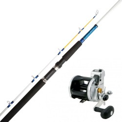 Trollingset Daiwa Jupiter/Strikeforce 7ft 12-25lb