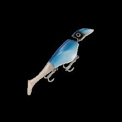 Headbanger Shad Flytande 16cm - Blue Pearl