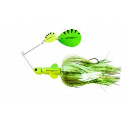 EFFZETT Pike Rattlin Spinnerbait 17cm 43g - Fluo Yellow/Green