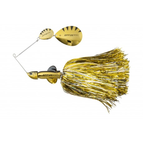 EFFZETT Pike Rattlin Spinnerbait 17cm 43g - Gold