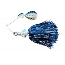 EFFZETT Pike Rattlin Spinnerbait 17cm 43g - Silver/blå