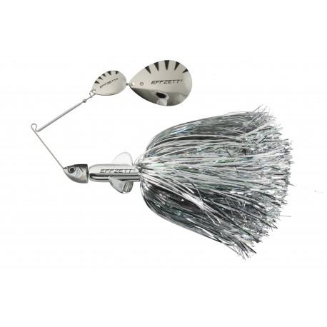 EFFZETT Pike Rattlin Spinnerbait 17cm 43g - Silver
