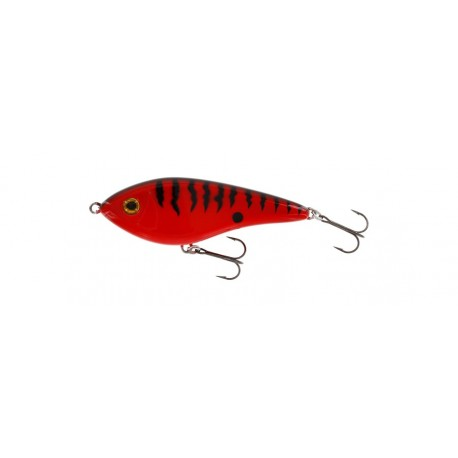 Westin Swim Jerk Suspending 10 cm - Red Tiger