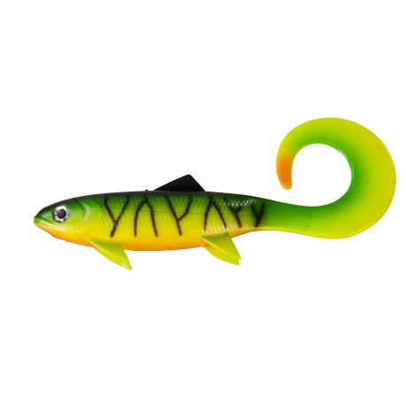D.A.M Effzett Pike Seducer Curly tail 18cm 50gr - Perch
