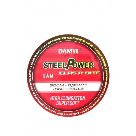 Steelpower Elasti-bite 300m 0.35mm