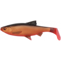 SG 3D River Roach Paddletail 18cm 70gr 2pack -Blood Belly