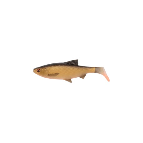 SG 3D River Roach Paddletail 18cm 70gr 2pack - Dirty roach