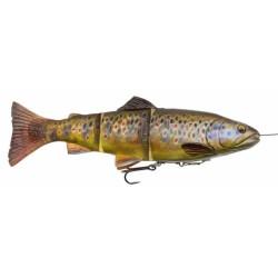 SG 4D Line thru 20cm 93g Slow Sink - Dark Brown Trout