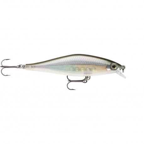 Rapala Shadow Rap Shad SHALLOW 9cm GHOST SHINER