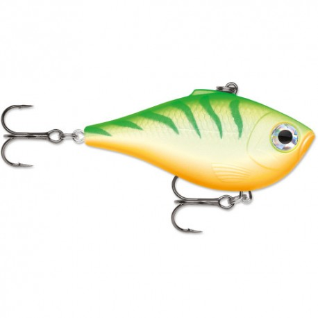 RAPALA RIPPIN RAP - GREEN TIGER UV