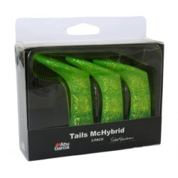 McHbyrid extra tail 3-pack - Chartreuse