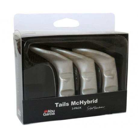 McHbyrid extra tail 3-pack - Pearl White